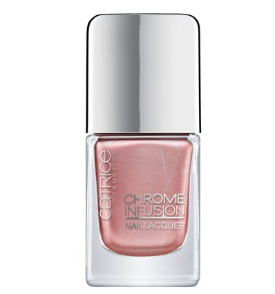 Catrice Chrome Infusion Nail Lacquer 03 Stunning Rose Gold 10.5ml