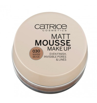 Catrice Mousse Make Up 030 Warm Beige 16g