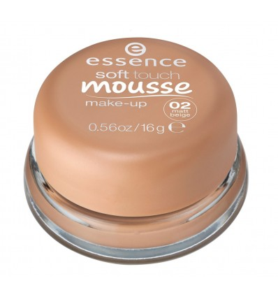 essence soft touch mousse make-up 02 16g