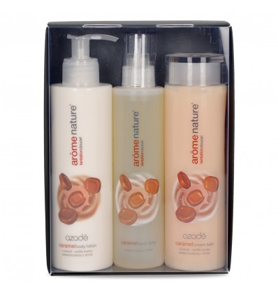 Arome Nature Gift Set Trio Caramel C/B&B/L&B/S 2x300ml&200ml