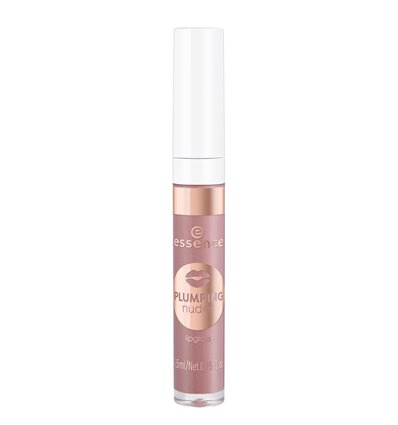 essence plumping nudes lipgloss 03 she's so extra 4.5ml