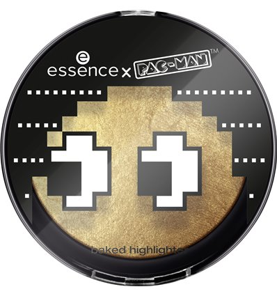 essence x PAC-MAN baked highlighter 01 game over 7g