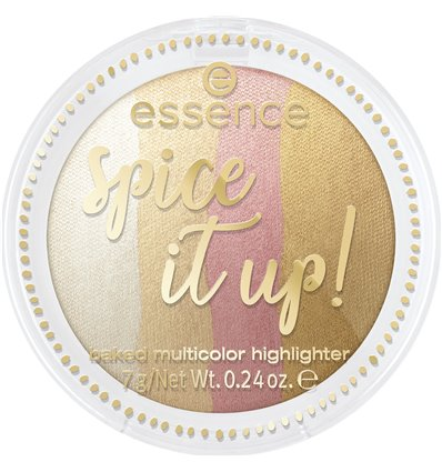 essence Spice it up! baked multicolor highlighter 01 more is more 7g