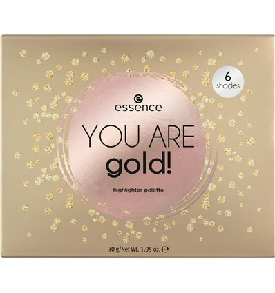 essence you are gold! highlighter palette 30g