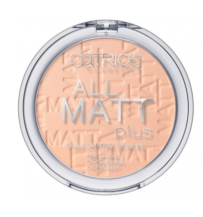 Catrice All Matt Plus Shine Control Powder 027 Rosy Beige