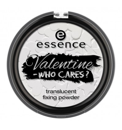 essence valentine - who cares? translucent fixing powder 01 guys allowed, NOT! 8g