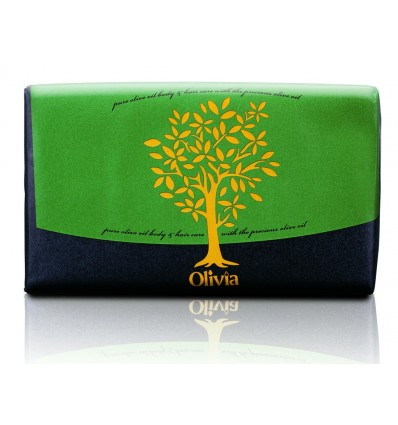 Olivia Natural Bar Soap With Olive Oil and Honey 125g