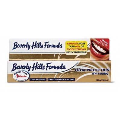 Beverly Hills Formula Οδοντόκρεμα Total Protection Whitening 125ml